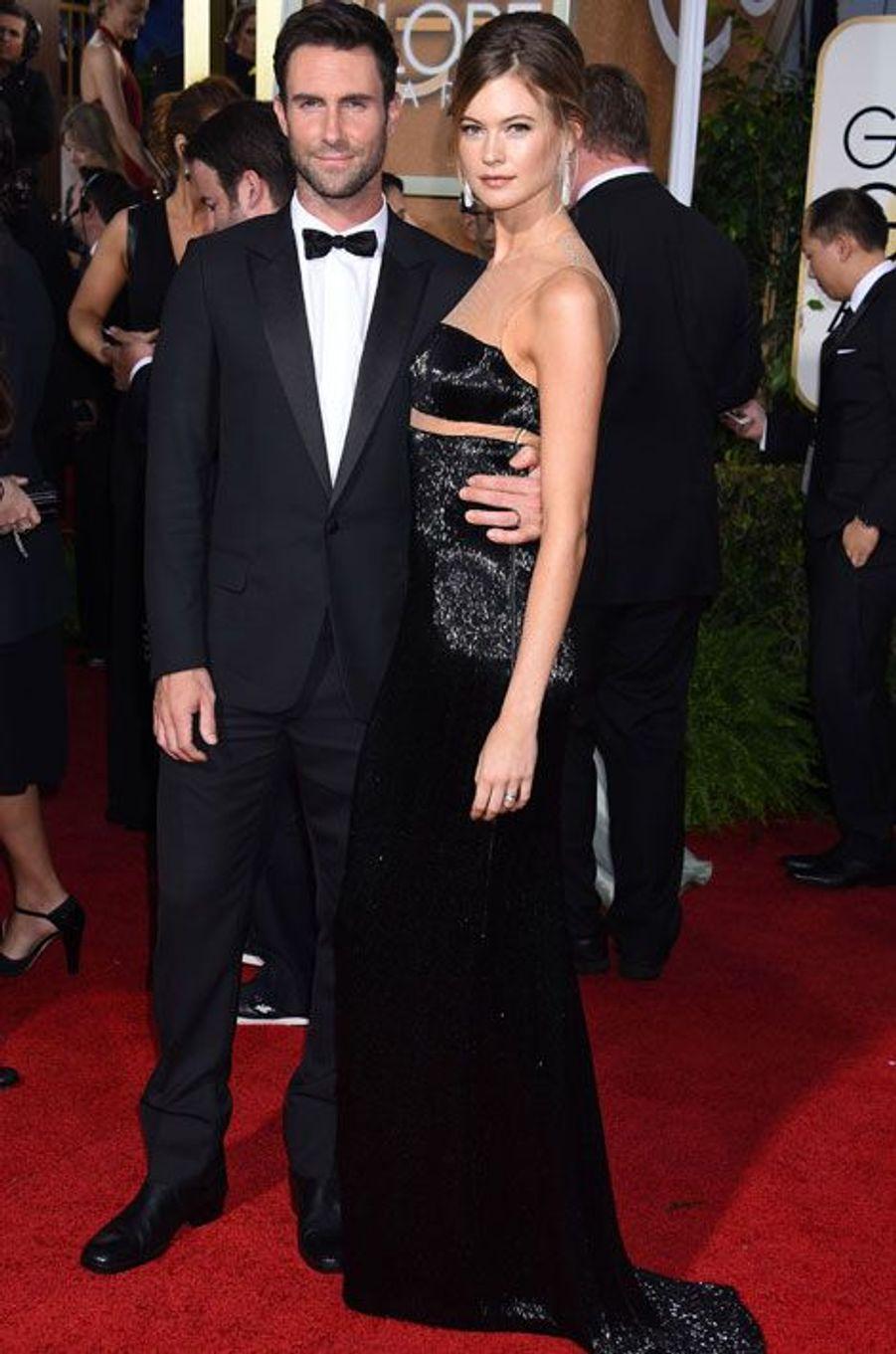 Adam Levine et sa femme Behati Prinsloo