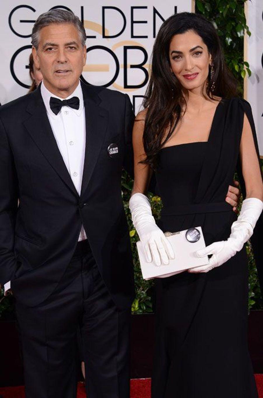 George et Amal Clooney