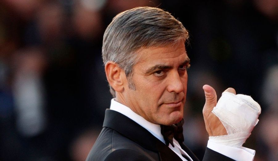 George Clooney a pu en témoigner: tout va bien pour lui en ce moment.