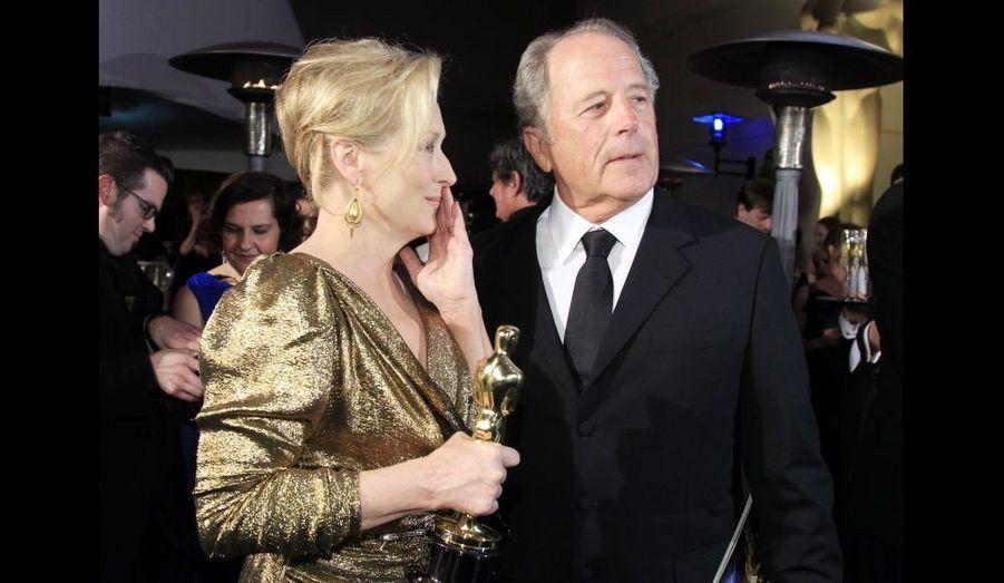 Avec son époux