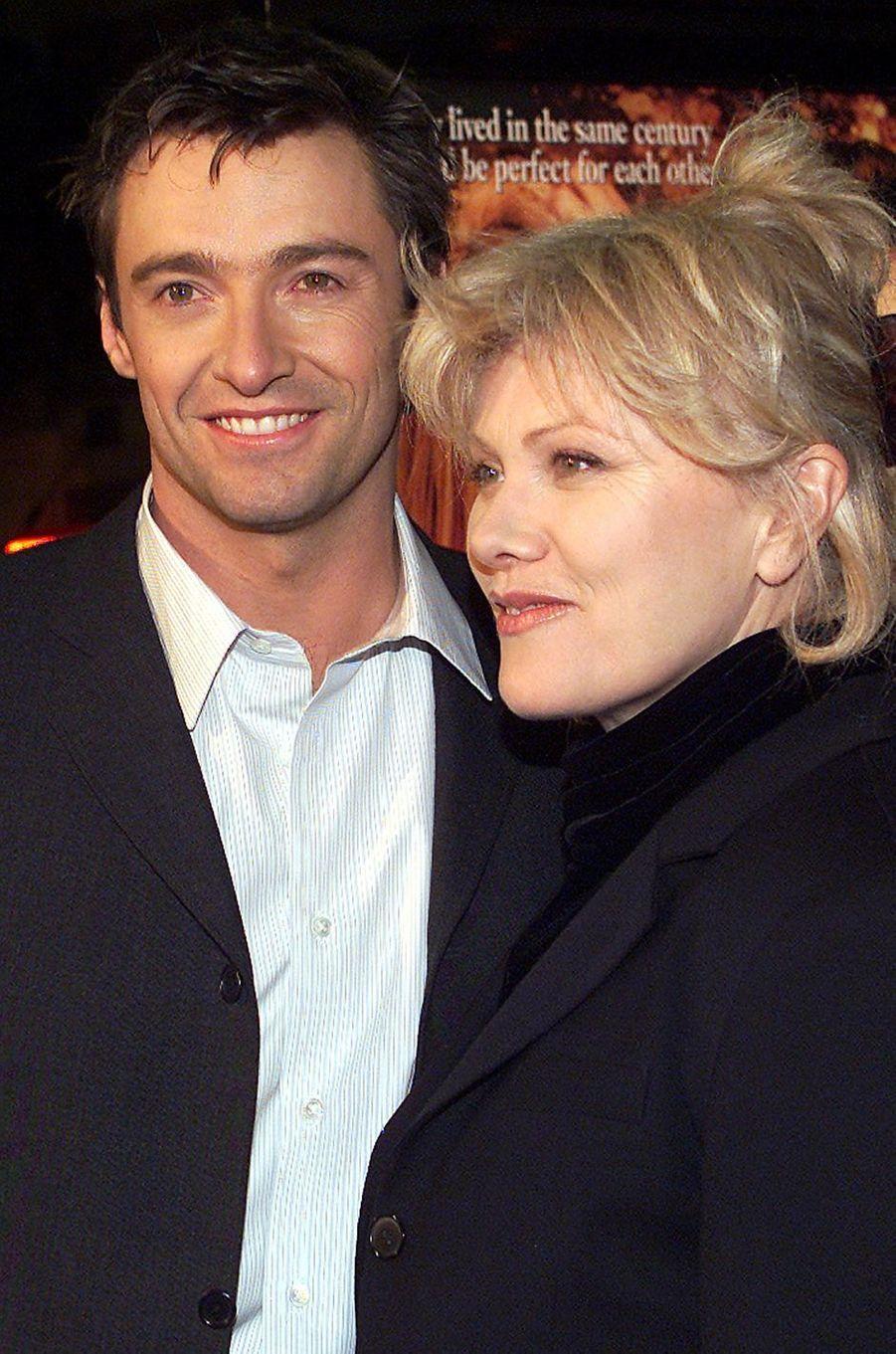 Hugh Jackman et son épouse Debora en 2001
