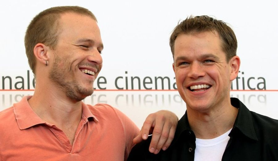Matt Damon a joué aux côtés du regretté Heath Ledger en 2005 dans le film de Terry Gilliam.