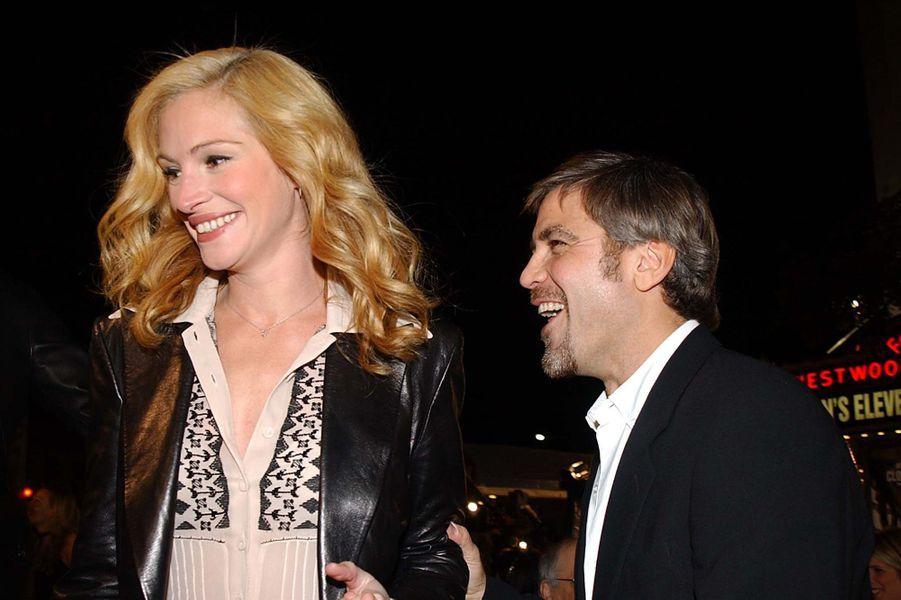 Julia Roberts et George Clooney, en 2002
