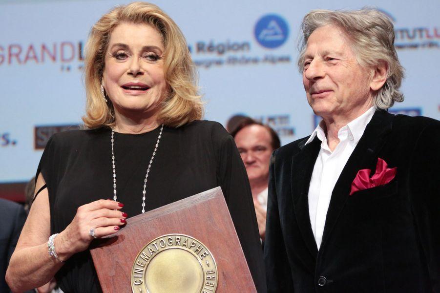 Catherine Deneuve et Roman Polanski.