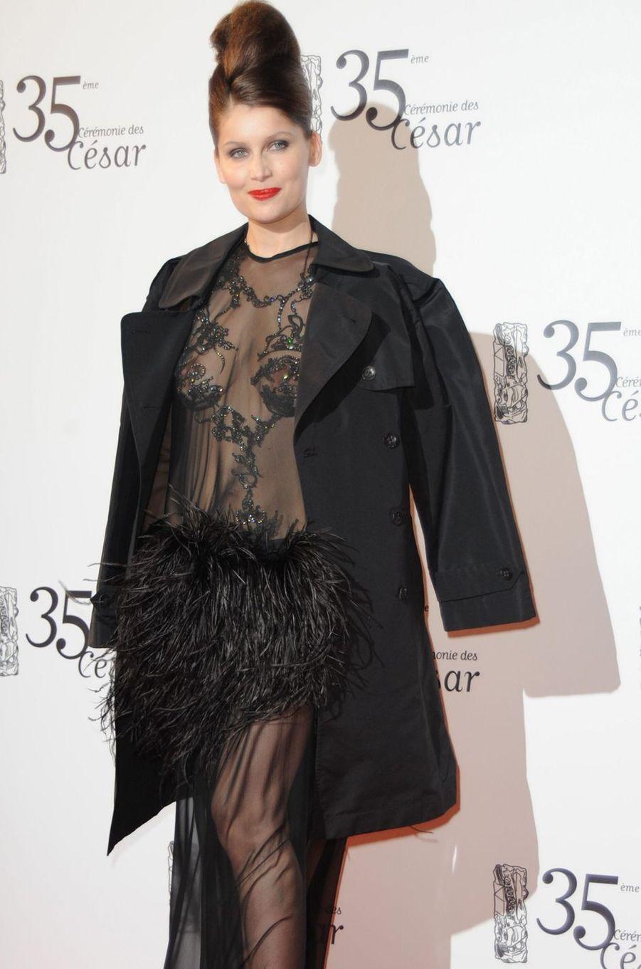 Laetitia Casta aux César 2010