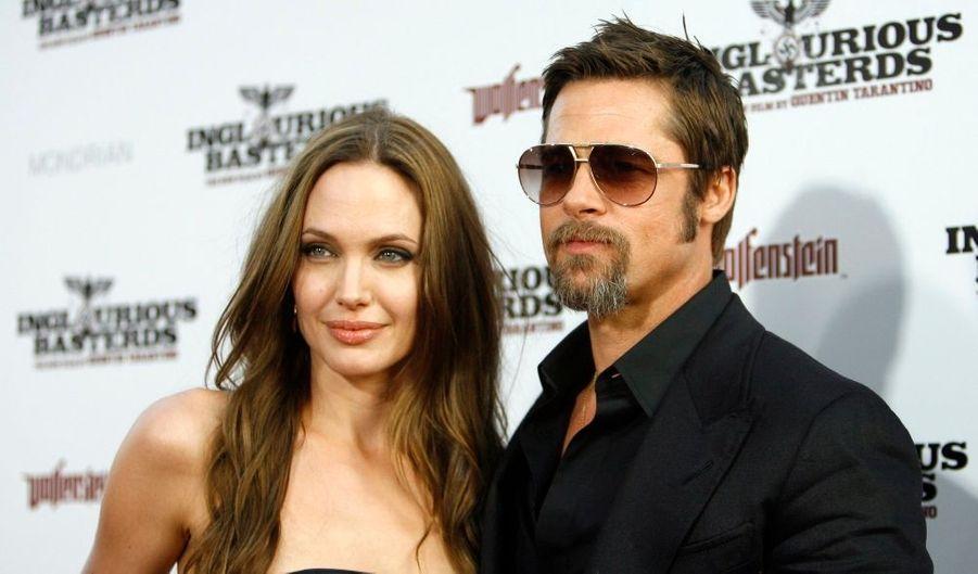 Avec une neuvième place, Brad Pitt intègre de peu le classement. Merci à  Inglourious Basterds (314 millions de dollars au box-office mondial).