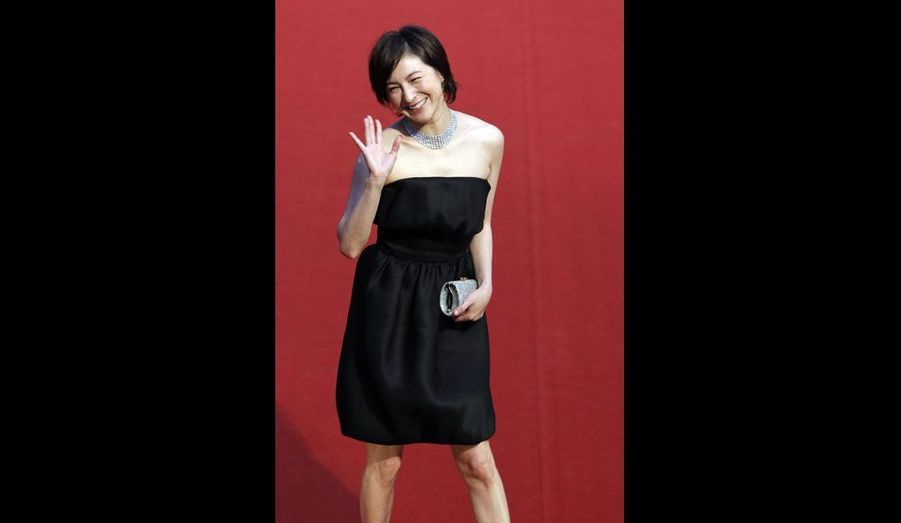 La comédienne japonaise Ryoko Hirosue