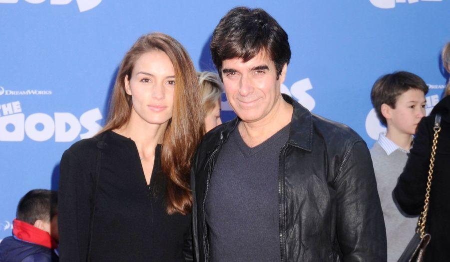 Chloe Gosselin et David Copperfield