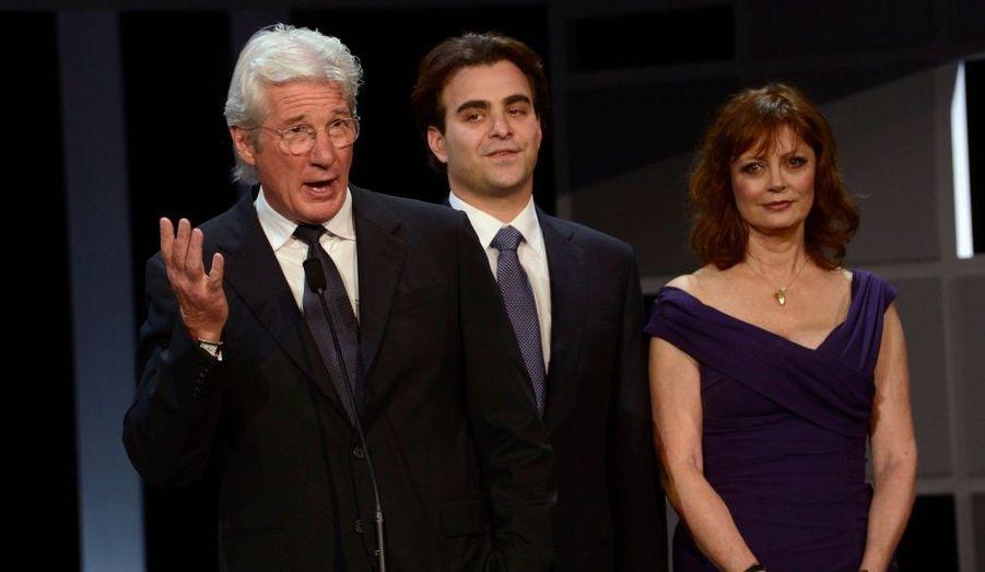 Richard Gere, Nicholas Jarecki et Susan Sarandon
