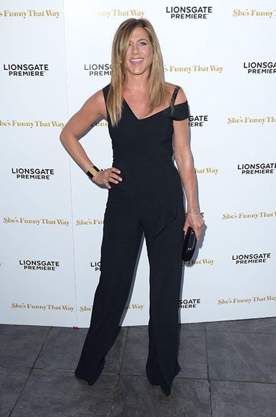 Jennifer Aniston à Los Angeles le 19 août 2015