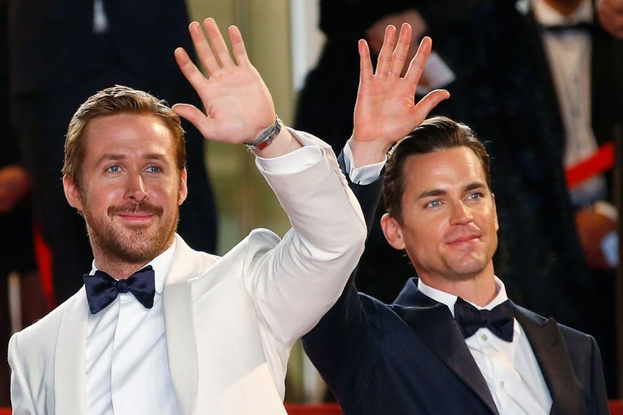 Ryan Gosling et Matthew Bomer