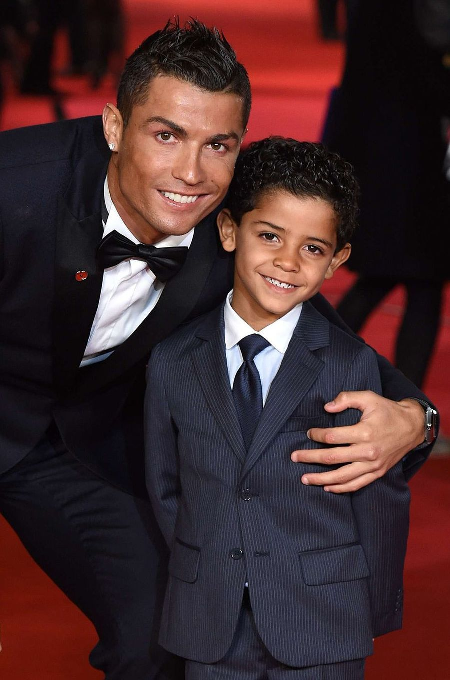 Cristiano Ronaldo et son fils Junior