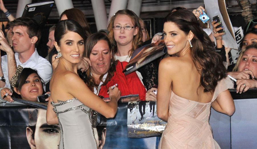 Nikki Reed et Ashley Green
