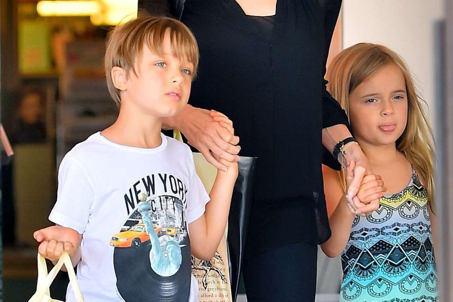 Vivienne et Knox Jolie-Pitt, 8 ans déjà.