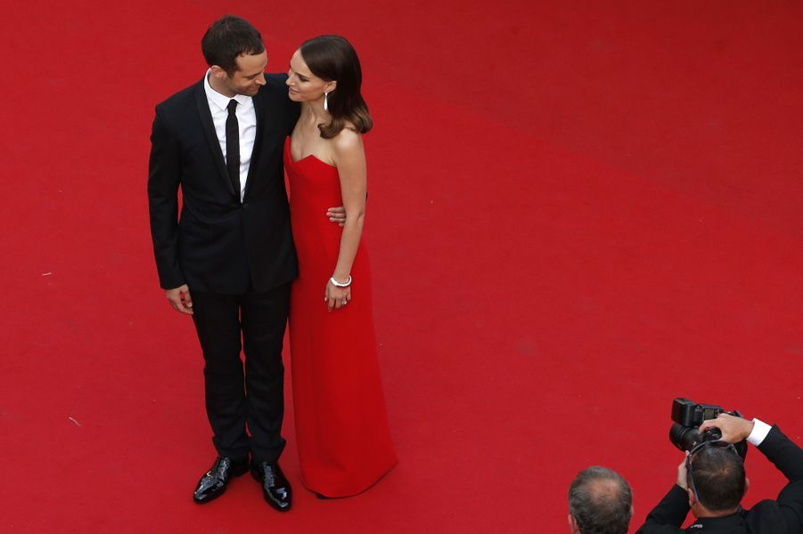 Natalie Portman et Benjamin Millepied.