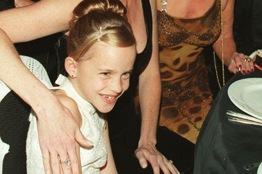 Dakota Johnson en 2000.