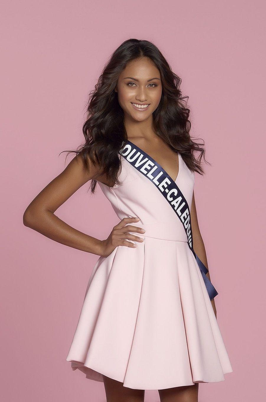 Levina Napoléon, Miss Nouvelle-Calédonie.