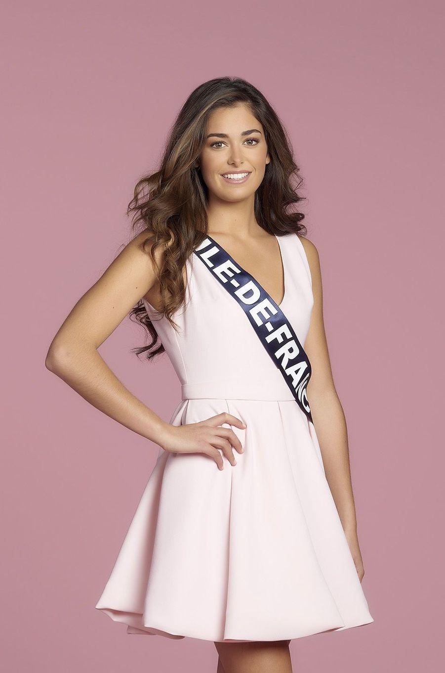 Lison Di Martino, Miss Ile-de-France.