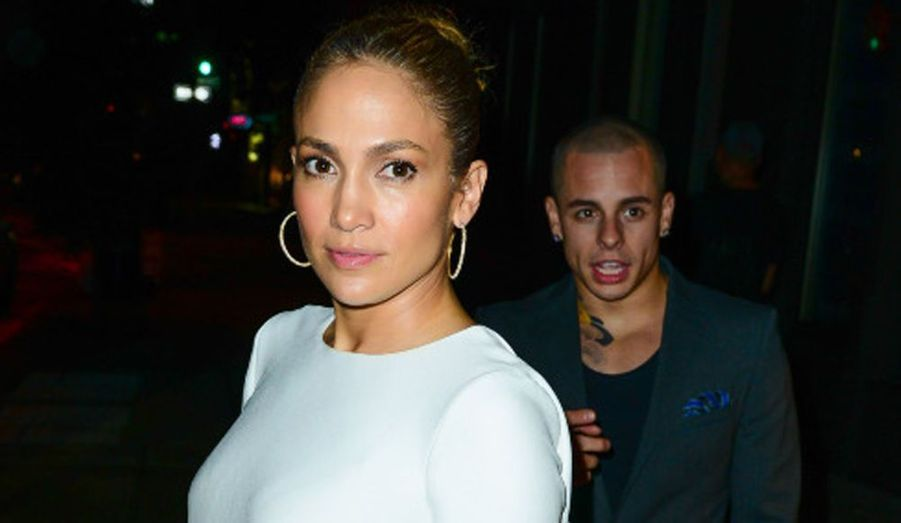 Jennifer Lopez a fêté mardi son 43ème anniversaire avec son petit ami Casper Smart, âgé 25 ans.