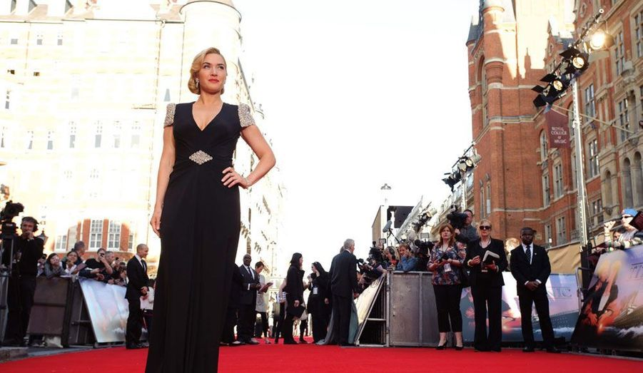 Quinze après la sortie du film, «Titanic» poursuit toujours Kate Winslet, qui avoue en avoir parfois assez des blagues et des clins d'oeil trop appuyés.