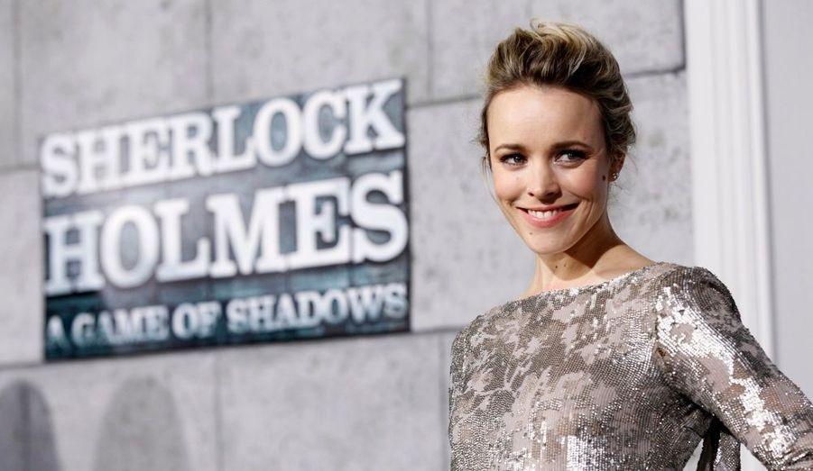 Rachel McAdams a assisté à l'avant-première du film Sherlock Holmes: Jeu d'ombres, à Los Angeles.