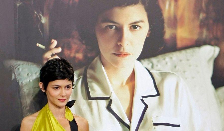 """Dans le cadre de la promotion de """"Coco avant Chanel"""", Audrey Tautou était hier à Madrid pour l'avant-première de son film, dans lequel elle incarne Gabrielle Chanel."""