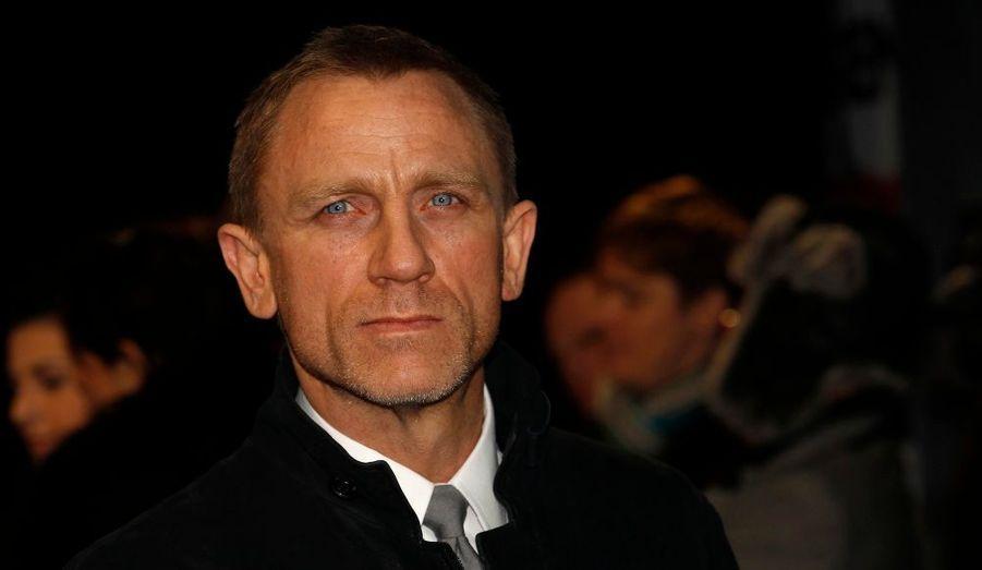 Daniel Craig, à l'avant-première mondiale du film The Girl with the Dragon Tattoo, à Londres.
