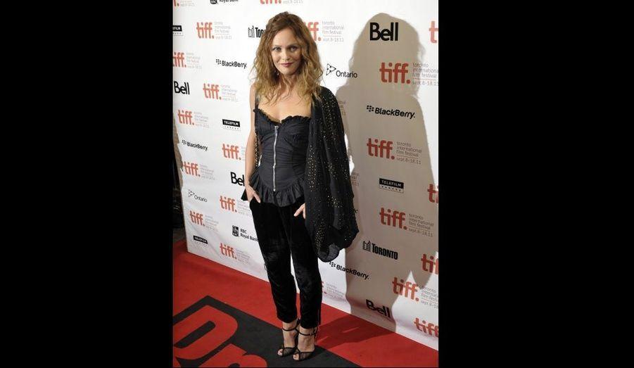Vanessa Paradis a assisté à la projection du Café de Flore de Jean-Marc Vallée au Festival du film de Toronto.