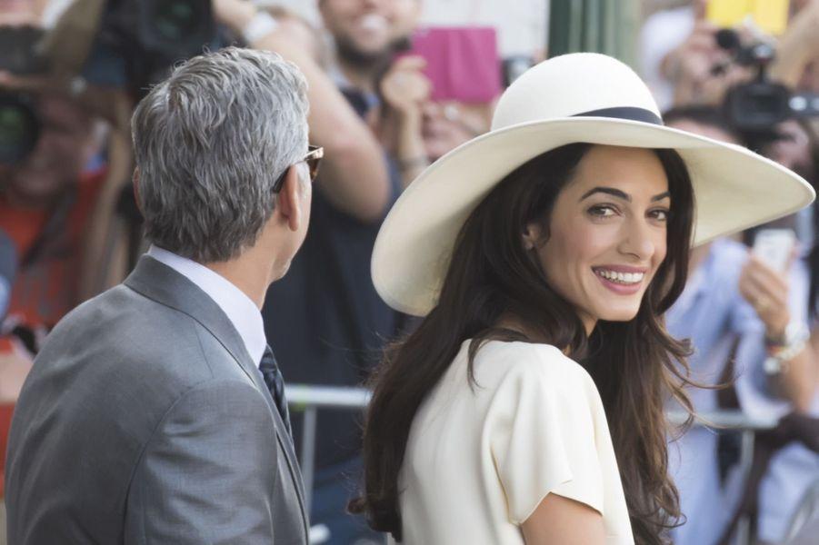 Bon anniversaire Amal Clooney !