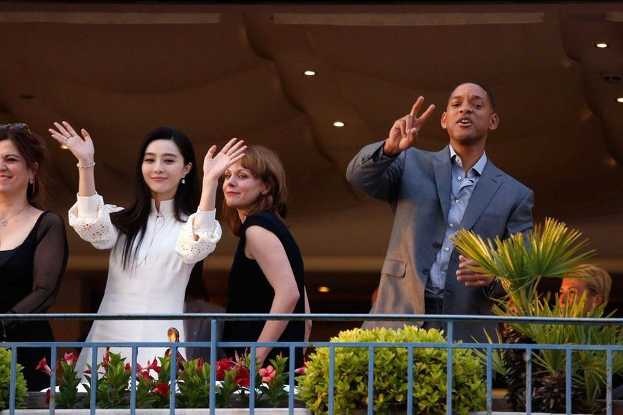 Fan Bingbing et Will Smith