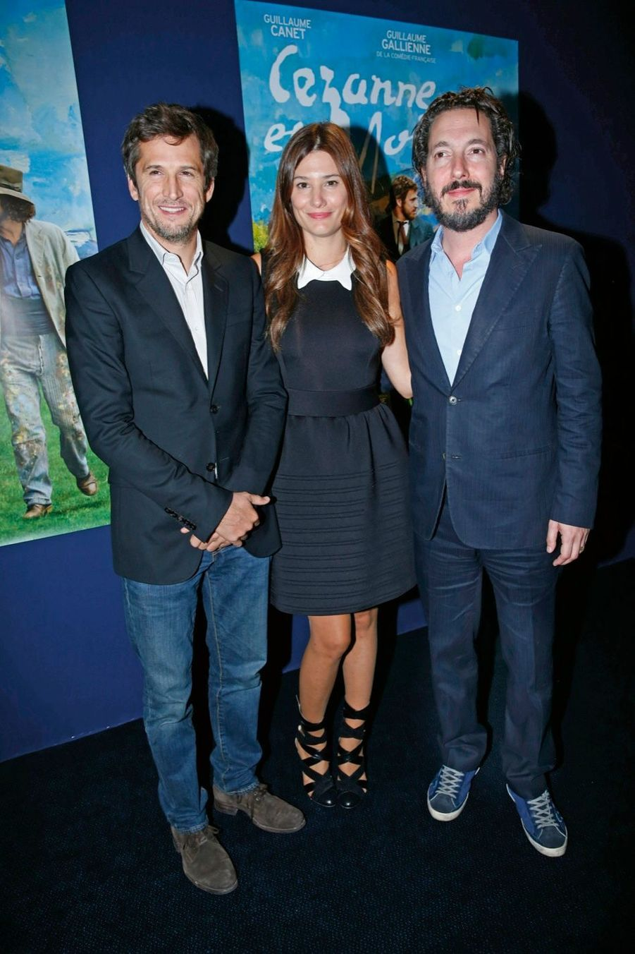 GUILLAUME CANET, ALICE POL, GUILLAUME GALLIENNE.