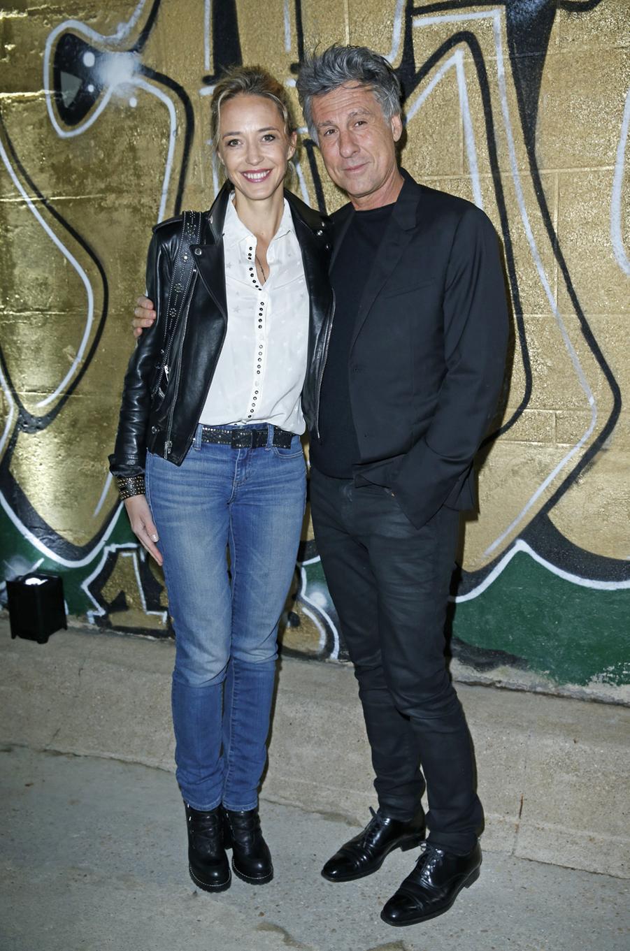 Hélène deFougerolles etMarc Simoncini.