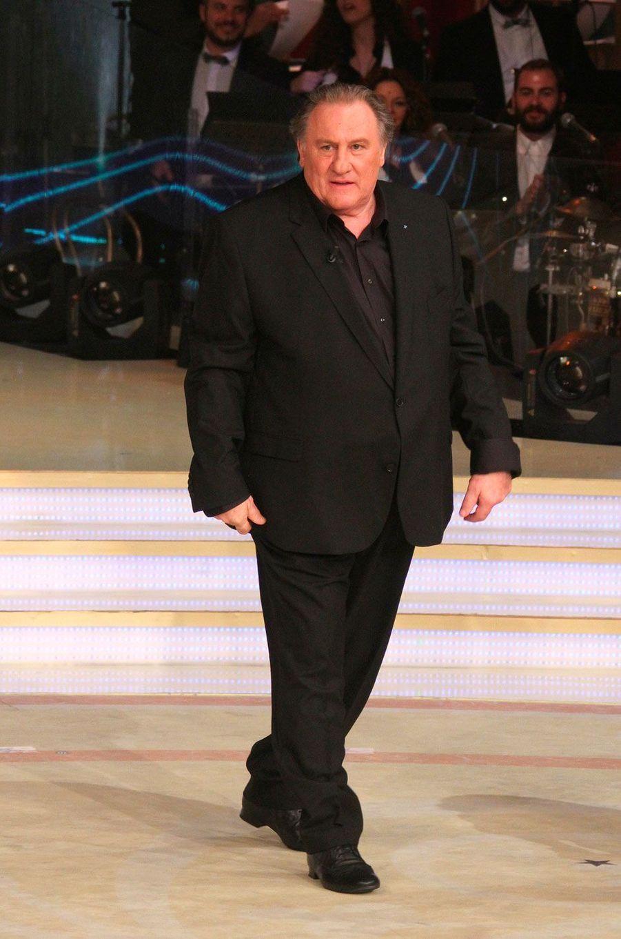 Gérard Depardieu dans la version italienne de «Danse avec les stars»