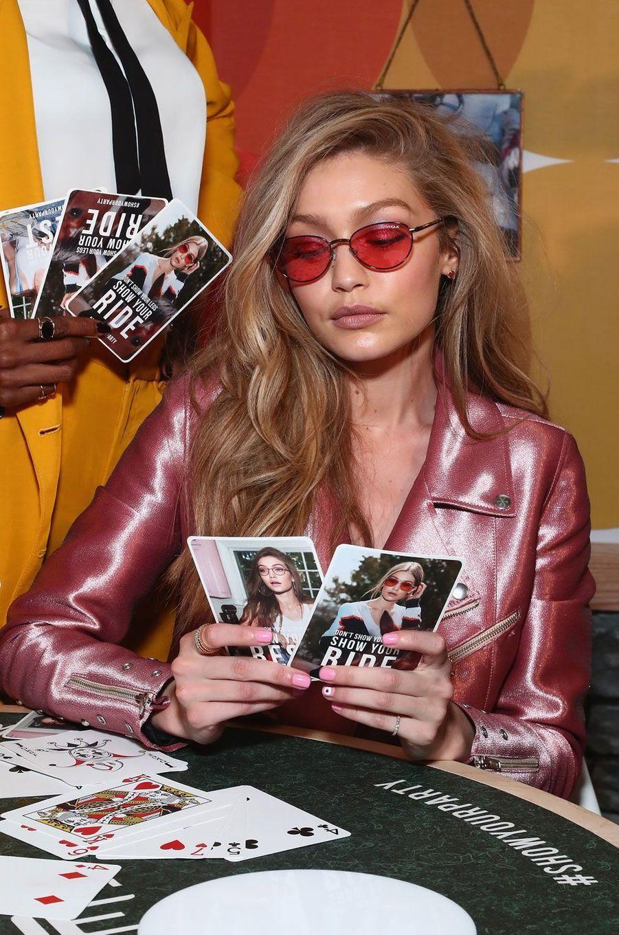 Le mannequin Gigi Hadid à New York.