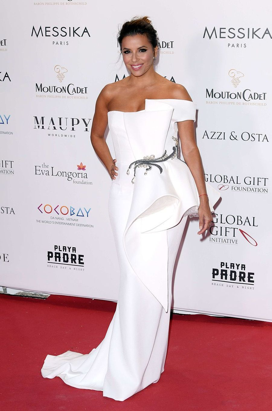 Eva Longoriaau Global Gift Initiative, à Cannes, le 19 mai 2017.