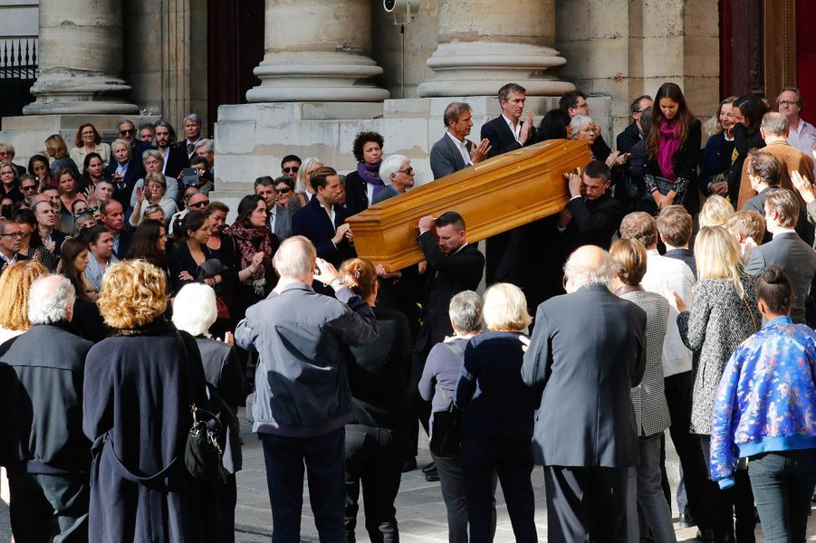 Les obsèques de Jean Rochefort