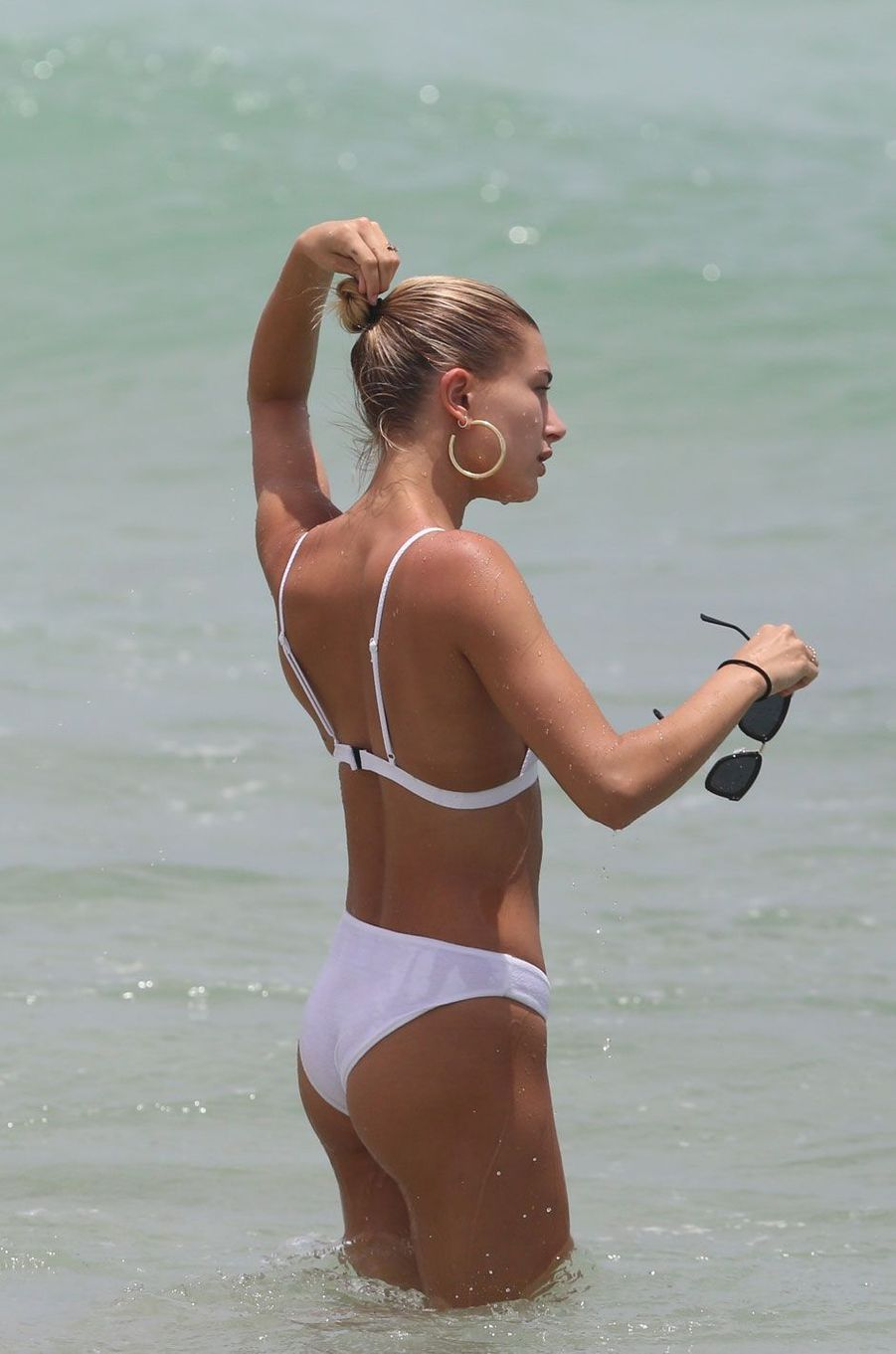 Hailey Baldwin à Miami