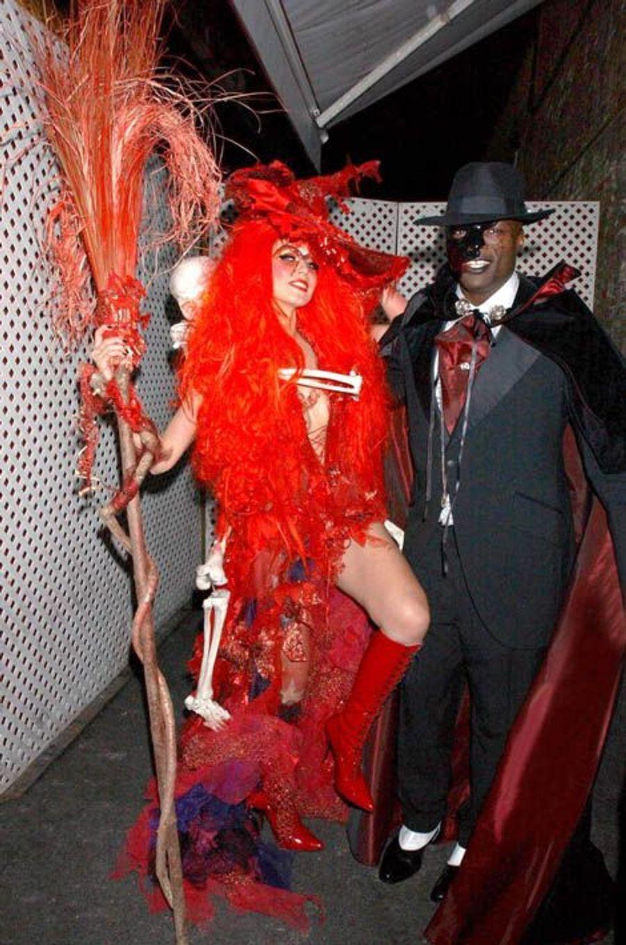 Heidi Klum, fête d'Halloween 2004, New York