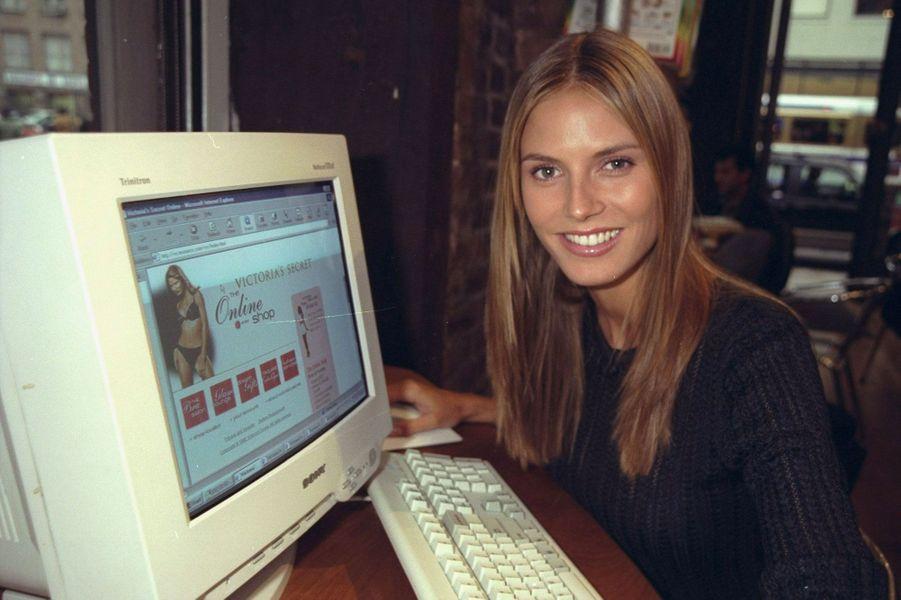 Heidi Klum en 1998