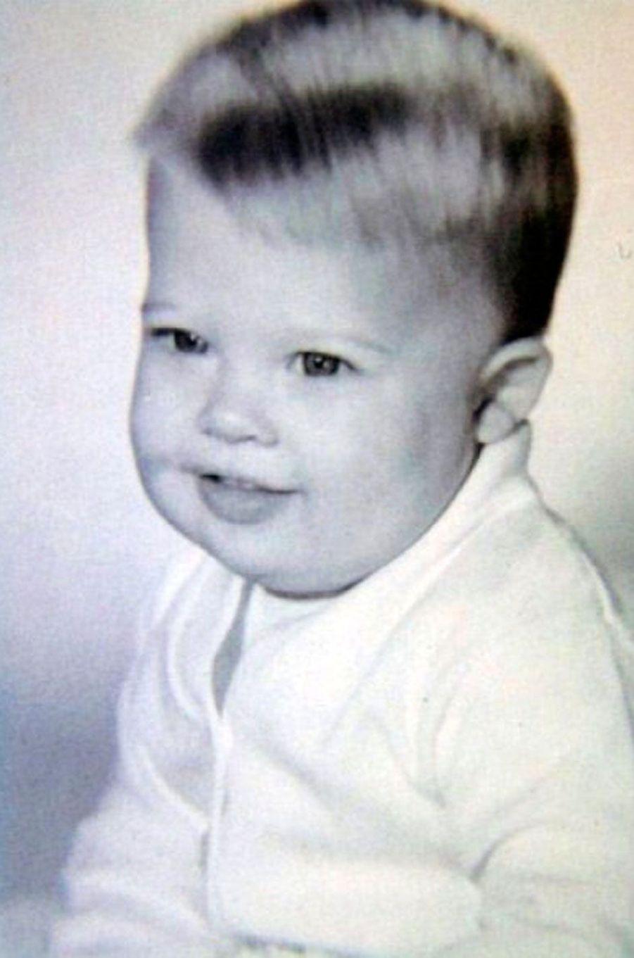 Brad Pitt enfant