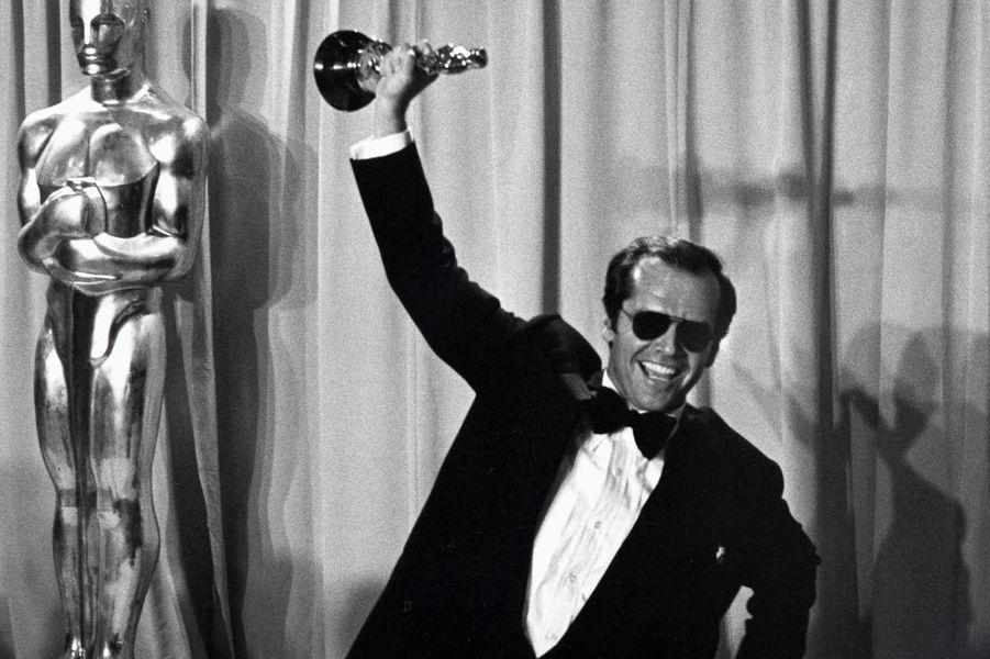 Jack Nicholson remporte un Oscar !