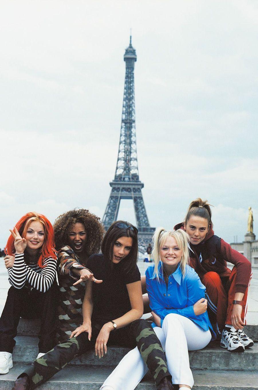 Les Spice Girls en 1996