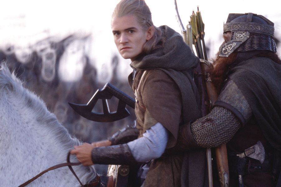 """Orlando Bloom dans le rôle de Legolas dans la saga """"Le Seigneur des Anneaux"""""""