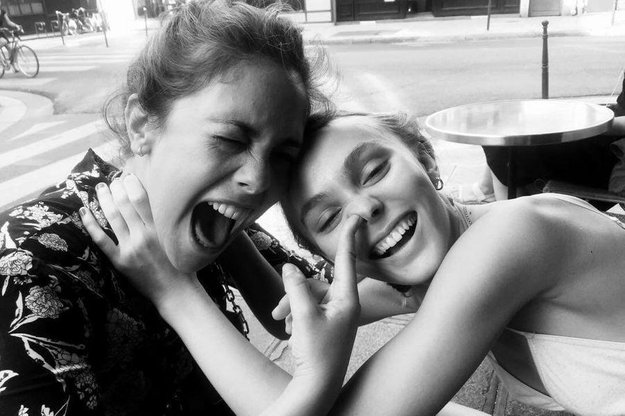 Lily-Rose Depp et Alysson Paradis