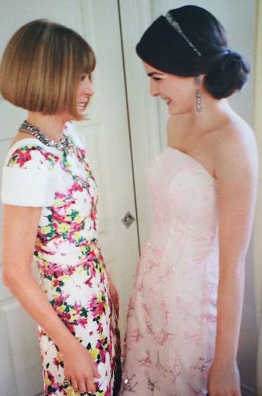 Anna Wintour et sa fille Bee Shaffer.
