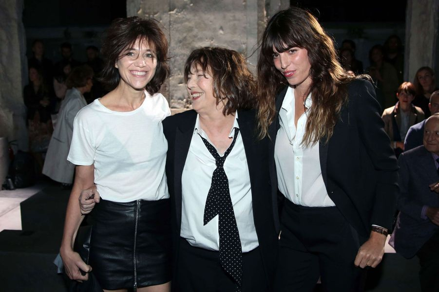 Charlotte Gainsbourg, Jane Birkin et Lou Doillon
