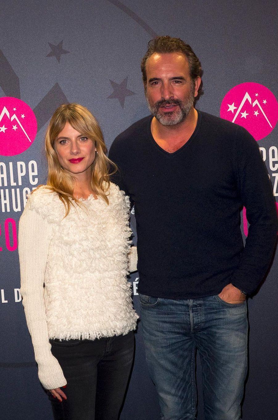 Jean dujardin et m lanie laurent duo de charme au for Dujardin melanie laurent