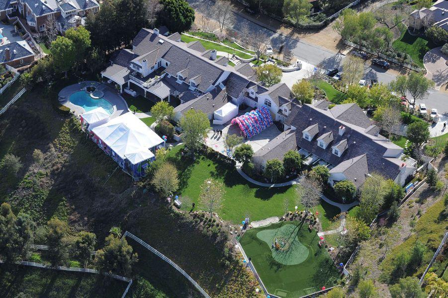 La maison de Jennifer Lopez.