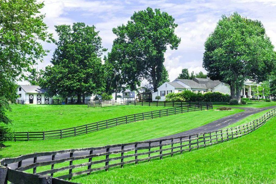 Le domaine de Johnny Depp dans le Kentucky