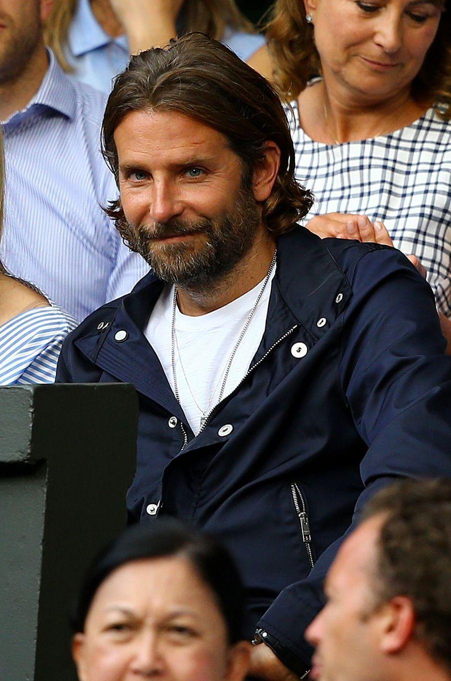 Bradley Cooper à Wimbledon.